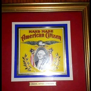 Antique : Hand Made American Citizen Original Anti